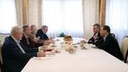 Дмитрий Медведев встретился с руководством Государственной Думы и лидерами парламентских фракций