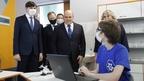 Михаил Мишустин посетил среднюю общеобразовательную школу №53 в Барнауле