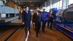 Михаил Мишустин ознакомился с работой завода «Балткран» в Калининграде