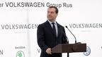 Дмитрий Медведев принял участие в церемонии начала строительства завода по производству двигателей внутреннего сгорания ООО «Фольксваген Груп Рус»