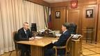 Алексей Гордеев встретился с губернатором Новосибирской области Андреем Травниковым