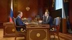Встреча Дмитрия Медведева с председателем фонда «Сколково» Аркадием Дворковичем