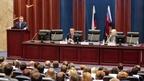 Игорь Шувалов представил коллективу Росреестра нового руководителя ведомства Викторию Абрамченко
