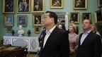 Дмитрий Медведев и Премьер Государственного совета КНР Ли Кэцян посетили Государственный музей-заповедник «Павловск»