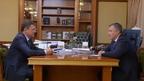 Состоялась встреча Александра Новака с губернатором Иркутской области Игорем Кобзевым