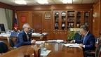 Виталий Мутко встретился с губернатором Новосибирской области Андреем Травниковым