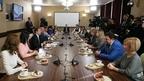 Встреча Дмитрия Медведева с преподавателями Красногорского колледжа
