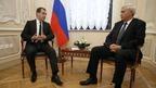Дмитрий Медведев провёл рабочую встречу с губернатором Санкт-Петербурга Георгием Полтавченко