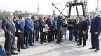 Михаил Мишустин посетил рыбный терминал Магаданского морского порта