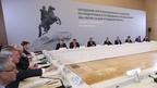 Заседание организационного комитета по подготовке и проведению празднования 350-летия со дня рождения Петра I