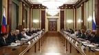 Встреча Михаила Мишустина с членами Совета палаты Совета Федерации Федерального Собрания