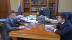 Александр Новак провёл рабочую встречу с губернатором ЯНАО Дмитрием Артюховым
