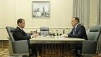 Встреча Дмитрия Медведева с губернатором Курганской области Вадимом Шумковым