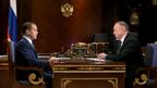 Встреча Дмитрия Медведева с президентом Торгово-промышленной палаты Российской Федерации Сергеем Катыриным