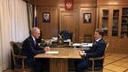 Алексей Гордеев провёл рабочую встречу с губернатором Ульяновской области Сергеем Морозовым