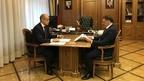Алексей Гордеев провёл рабочую встречу с главой Удмуртии Александром Бречаловым