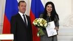 Дмитрий Медведев вручил дипломы лауреатам премий Правительства 2016 года в области средств массовой информации