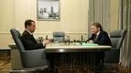 Встреча Дмитрия Медведева с Уполномоченным при Президенте по защите прав предпринимателей Борисом Титовым