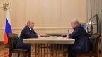 Встреча Михаила Мишустина с руководителем Федеральной таможенной службы Владимиром Булавиным