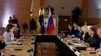 Встреча Дмитрия Медведева с генеральным директором Европейской организации ядерных исследований Фабиолой Джанотти