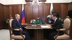 Рабочая встреча Президента России Владимира Путина с Председателем Правительства Дмитрием Медведевым
