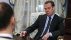 Интервью Дмитрия Медведева немецкой газете «Хандельсблатт»