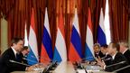 Беседа Дмитрия Медведева с Премьер-министром Люксембурга Ксавье Беттелем