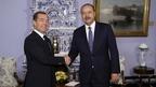 Встреча Дмитрия Медведева с Премьер-министром Республики Узбекистан Абдуллой Ариповым