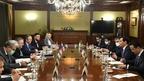 Рабочая встреча Алексея Оверчука и Заместителя Премьер-министра Республики Узбекистан – Министра инвестиций и внешней торговли Республики Узбекистан Сардора Умурзакова