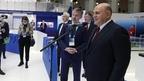 Михаил Мишустин принял участие в работе XIV Международного форума «Транспорт России»