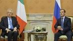 Дмитрий Медведев встретился с Председателем Совета министров Италии Марио Монти