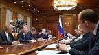 Встреча Дмитрия Медведева с руководством фракции партии «Справедливая Россия» в Государственной Думе