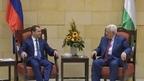 Dmitry Medvedev's visit to the State of Palestine