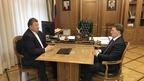 Алексей Гордеев провёл рабочую встречу с председателем Комитета Государственной Думы по аграрным вопросам Владимиром Кашиным