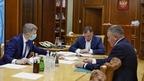 Марат Хуснуллин провёл рабочую встречу с губернатором Вологодской области Олегом Кувшинниковым