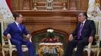 Встреча Дмитрия Медведева с Президентом Таджикистана Эмомали Рахмоном
