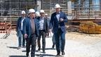 Марат Хуснуллин проверил ход строительства крупных инфраструктурных объектов Севастополя