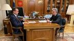 Виталий Мутко встретился с губернатором Краснодарского края Вениамином Кондратьевым
