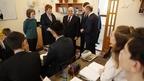 Михаил Мишустин посетил Республиканский классический лицей  в Горно-Алтайске