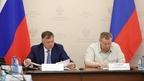 Марат Хуснуллин совместно с полномочным представителем Президента в Южном федеральном округе Владимиром Устиновым провёл совещание с главами субъектов округа