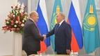 Mikhail Mishustin's meeting with the first President of Kazakhstan, Nursultan Nazarbayev