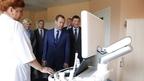 Дмитрий Медведев посетил Псковский областной онкологический диспансер