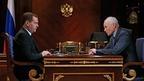 Дмитрий Медведев встретился с государственным секретарём Союзного государства России и Белоруссии Григорием Рапотой