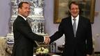 Беседа Дмитрия Медведева с Президентом Кипра Никосом Анастасиадисом