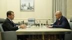 Встреча Дмитрия Медведева с главой администрации Липецкой области Игорем Артамоновым