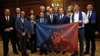Дмитрий Медведев присутствовал на презентации совместной учебной программы Московской школы управления «Сколково» и бизнес-школы Гонконгского университета науки и технологий