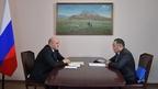 Беседа Михаила Мишустина с главой Республики Тыва Шолбаном Кара-оолом