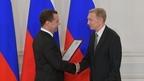 Дмитрий Медведев вручил премии Правительства за 2018 год в области средств массовой информации