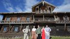 Дмитрий Медведев посетил государственный историко-архитектурный и этнографический музей-заповедник «Кижи»