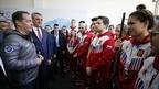 Встреча Дмитрия Медведева с тренерами и студентами – членами сборной команды России